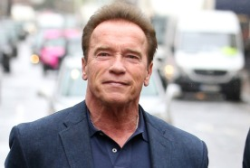 Arnold Schwarzenegger out and about, London, UK - 07 Dec 2017